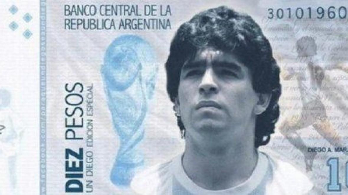 Proponen crear un nuevo billete de 10 pesos en honor a Maradona - Mediática  Digital